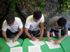 Firma convenio de colaboración entre organizaciones